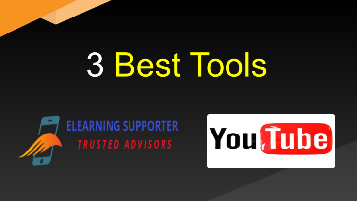 3 best tools to make YouTube videos