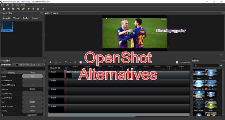 5 Best OpenShot Alternatives