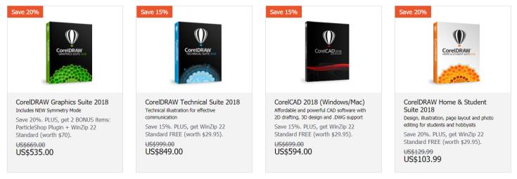 CorelDraw Discount