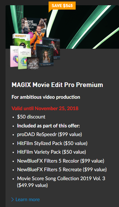 Magix Movie Edit Pro Premium Discount.PNG