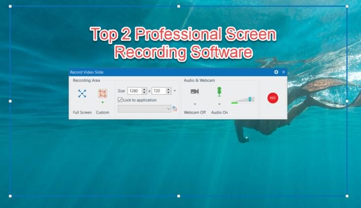 Professional screen recording software