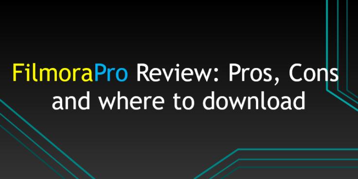 FilmoraPro Review
