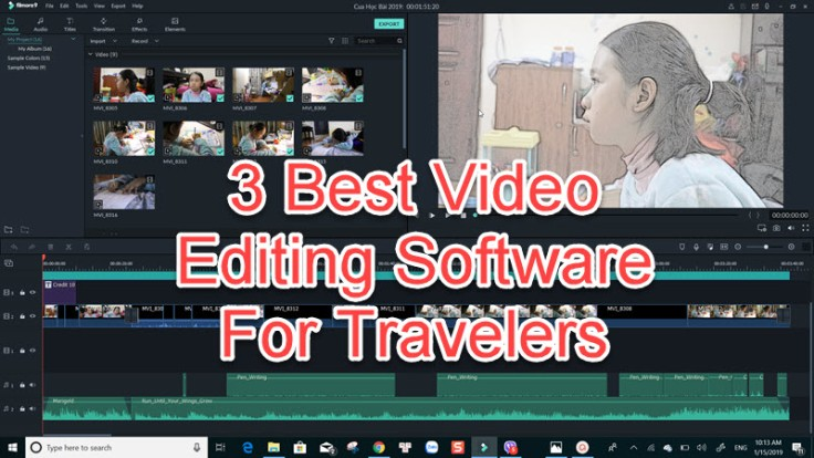 best video editing software for travelers