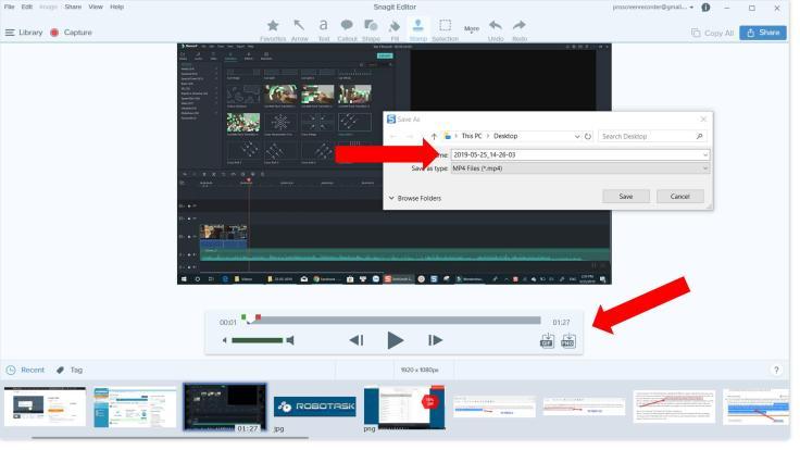 Snagit Video Recorder