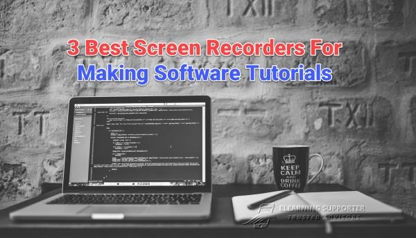 3 best screen recorder for making software tutorials