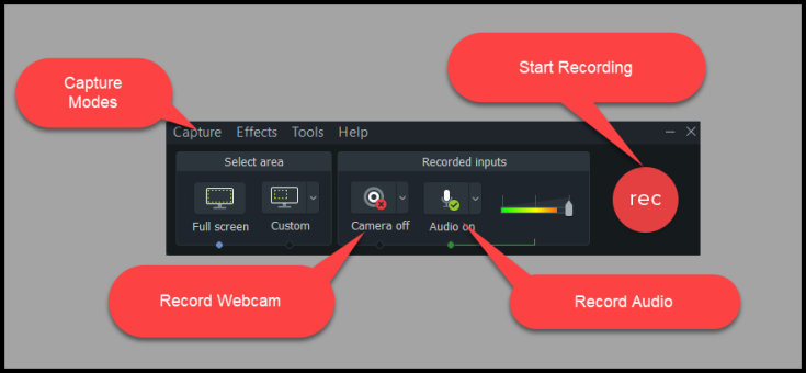 Camtasia Screen recorder