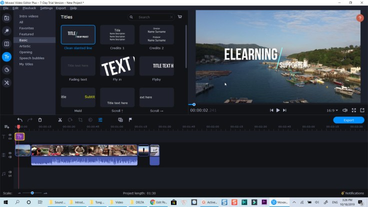 Movavi Video Editor Plus 2020 Presets