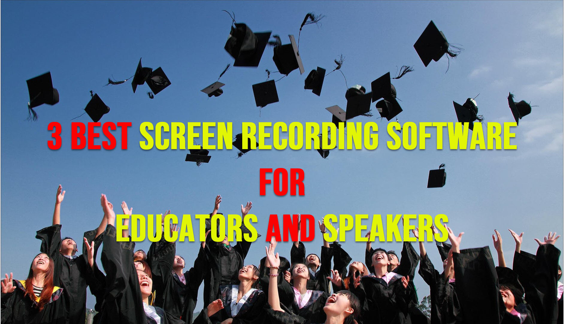 Best Screen Recording Software For Educators and Speakers