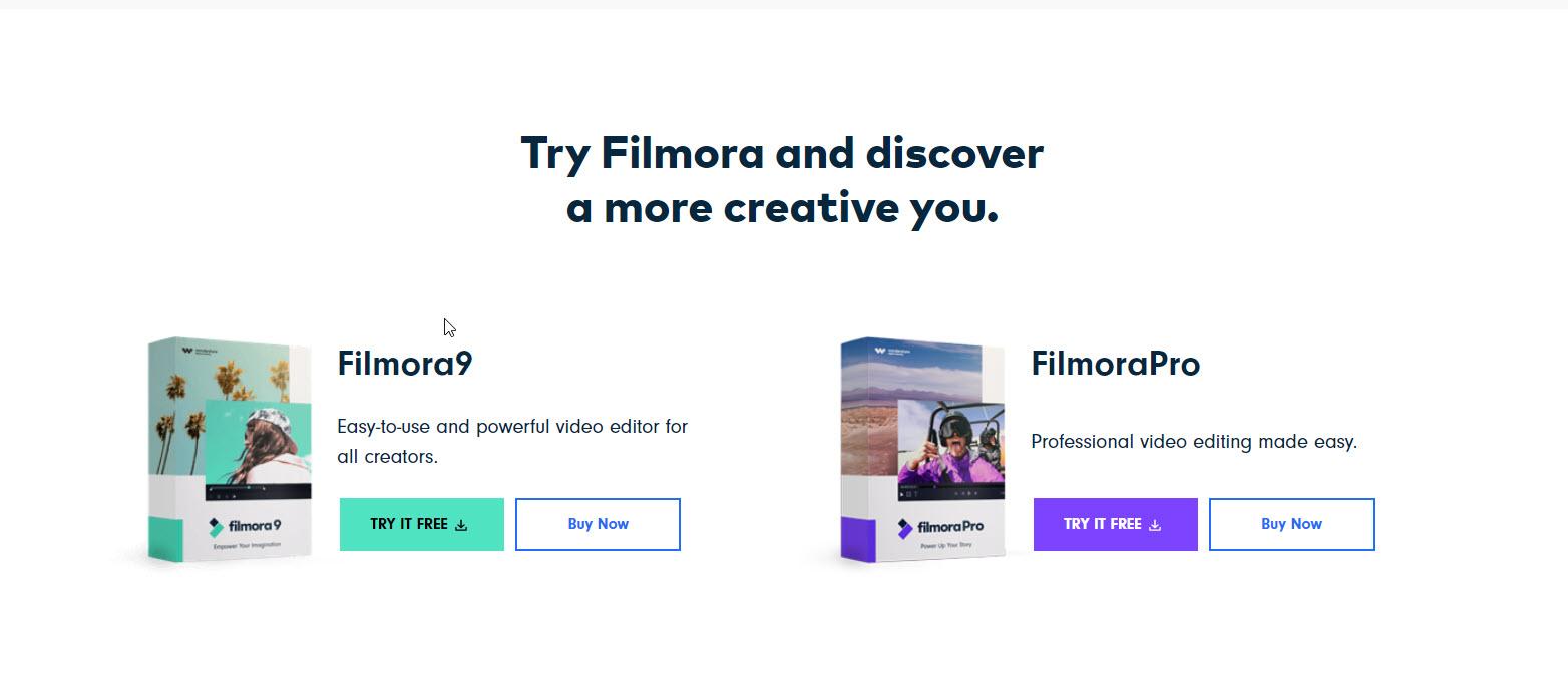 Filmora9 vs FilmoraPro