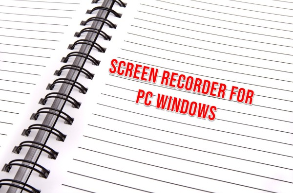 Screen recorder for PC Windows