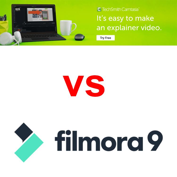 camtasia vs filmora9