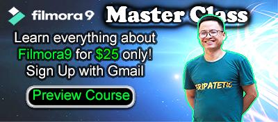 Filmora9 Master Class