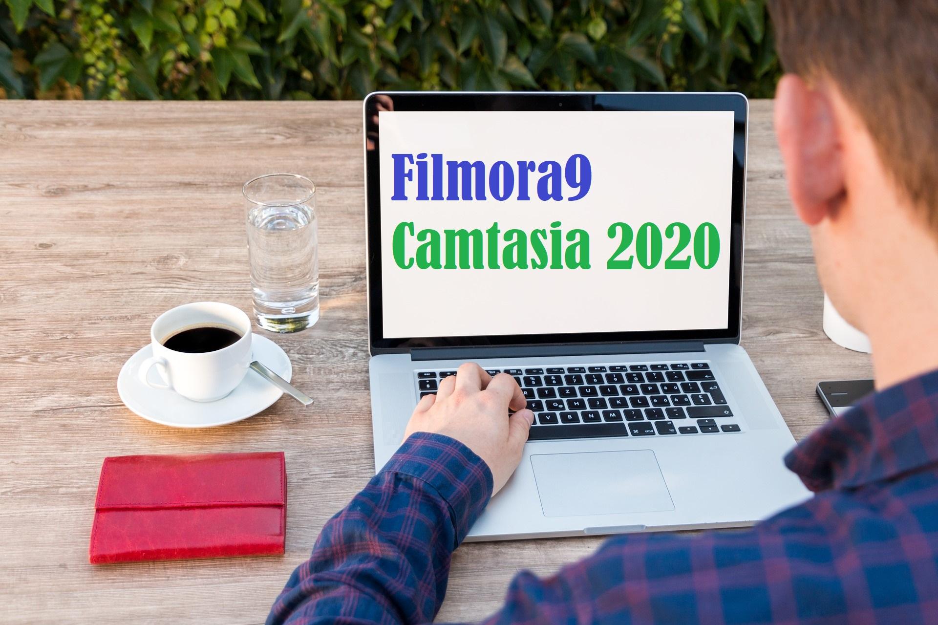 filmora9vs camtasia2020